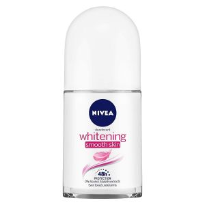 NIVEA Deodorant Roll-on, Whitening Smooth Skin