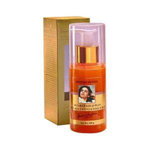 Shahnaz Husain 24 Carat Gold Anti - Age Exfoliating Scrub
