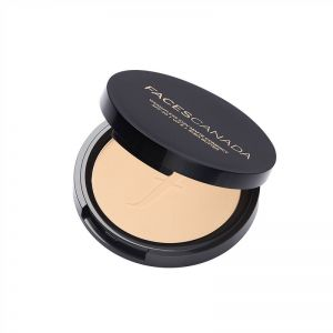 Faces Canada Weightless Stay Matte Compact SPF-20 Vitamin E & Shea Butter - Natural 02