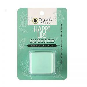 Organic Harvest Lip Balm - High Gloss With Green Tea Oil