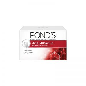 Ponds Age Miracle Wrinkle Corrector Day Cream SPF 18 PA++ (35gm)
