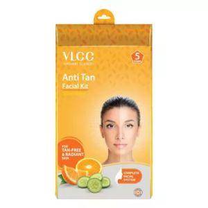 VLCC Anti-Tan Facial Kit (5 Sessions) For Tan-Free & Radiant Skin