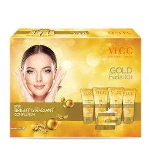 VLCC Gold Facial Kit For Bright & Radiant Complexion