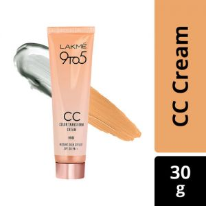 Lakme 9 to 5 CC Color Transform Face Cream SPF 30 PA++ - Beige