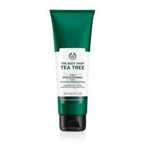 The Body Shop Tea Tree 3 IN 1 (Wash. Scrub & Mask)
