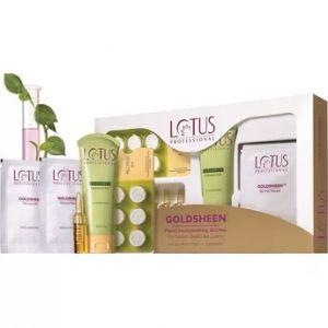 Lotus Professional Goldsheen Facial Kit