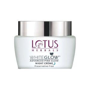 Lotus Herbals Whiteglow Advanced Pink Glow Night Creme