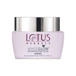 Lotus Herbals Whiteglow Advanced Pink Glow Creme Spf 25 Pa+++