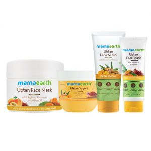 Mamaearth Ubtan De-Tan Kit With Yogurt