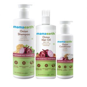 Mamaearth Onion Anti Hair Fall Kit