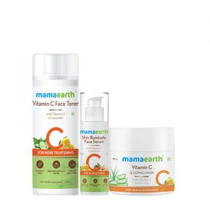 Mamaearth Vitamin C Night Regime Kit