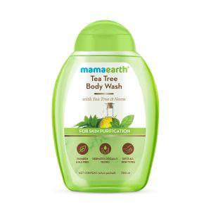 Mamaearth Tea Tree Body Wash With Tea Tree & Neem, Shower Gel For Skin Purification