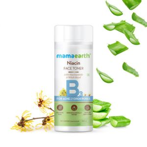 Mamaearth Niacin Toner For Face, With Niacinamide & Witch Hazel For Acne And Open Pores