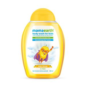 Mamaearth Major Mango Body Wash For Kids with Mango & Oat Protein
