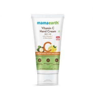 Mamaearth Vitamin C Hand Cream with Vitamin C and Shea Butter for Intense Moisturization