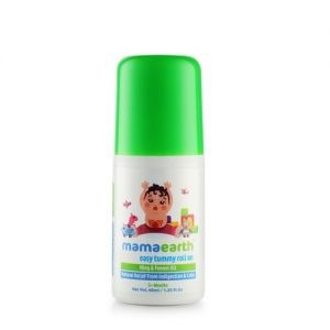 Mamaearth Easy Tummy Roll On for Indigestion and Colic Relief - Hing and Fennel Oil