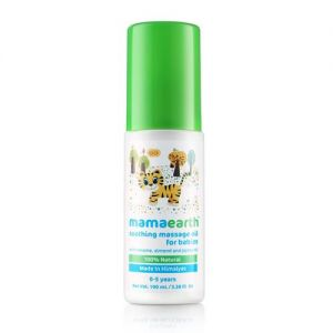 Mamaearth Soothing Massage Oil for Babies 0 - 5 Years