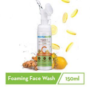 Mamaearth Vitamin C Foaming Face Wash with Vitamin C & Turmeric