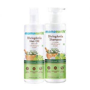 Mamaearth BhringAmla Anti Hair Fall Regular Kit