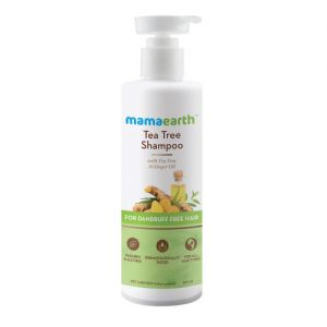 Mamaearth Tea Tree Anti Dandruff Shampoo With Ginger Oil
