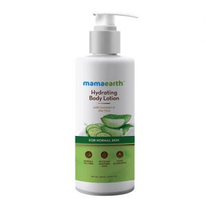 Mamaearth Hydrating Body Lotion With Cucumber & Aloevera