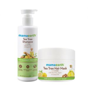 Mamaearth Tea Tree Anti Hair Fall Spa Kit