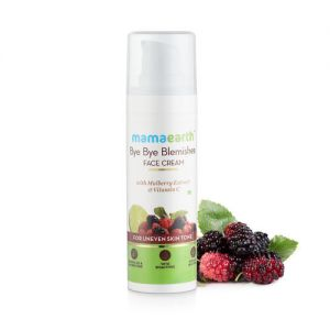 Mamaearth Bye Bye Blemishes Face Cream With Mulberry Extract & Vitamin C