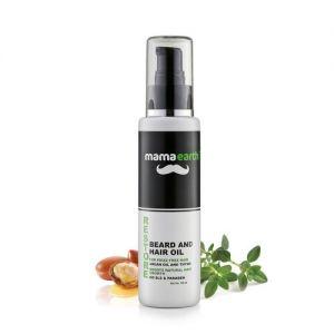 Mamaearth Restore Beard and Hair Oil for Men