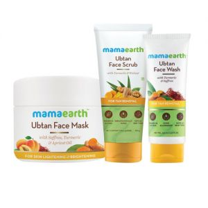Mamaearth Ubtan De-Tan Kit