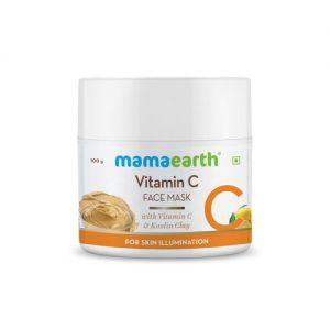 Mamaearth Vitamin C Face Mask with Kaolin Clay for Skin Illumination