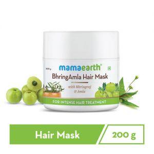 Mamaearth BhringAmla Hair Mask with Bhringraj & Amla for Intense Hair Treatment