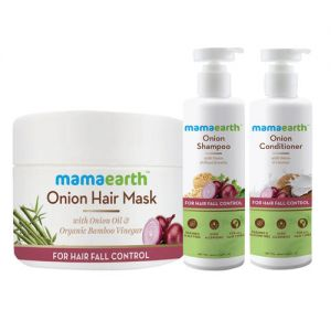Mamaearth Onion Anti Hairfall Spa Kit