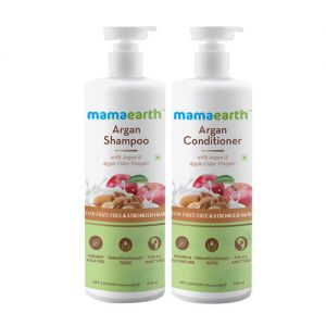 Mamaearth Argan & Apple Cider Vinegar Anti Freez Express Kit