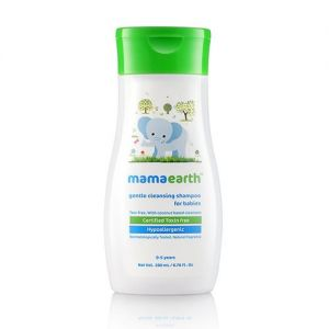 Mamaearth Gentle Cleansing Shampoo For Babies