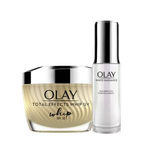 Olay Total Effects Summer Combo for Anti-ageing With SPF30 (Summer Moisturizer + Essence)