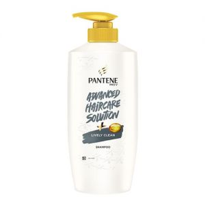 Pantene Advanced Hair Care Solution Lively Clean Shampoo(650ml)