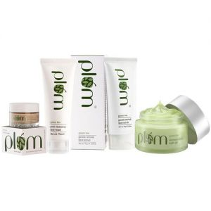 Plum Green Tea Glow-At-Home Set