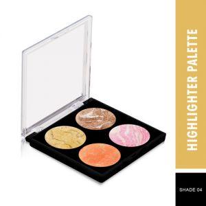 Swiss Beauty Highlighter Palette - Shade 04