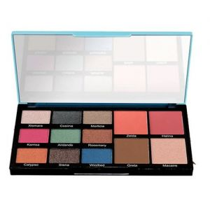 Swiss Beauty Face and Eye Make-up Palette - 01 Santorini Love