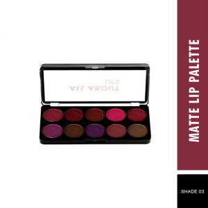 Swiss Beauty Matte Lip Palette - Shade 03