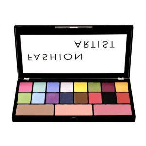 Swiss Beauty Fashion Artist Eyeshadow & Blusher Palette - 04