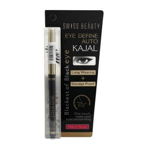 Swiss Beauty Eye Define Auto Kajal Black