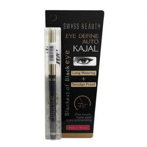 Swiss Beauty Eye Define Auto Kajal Black