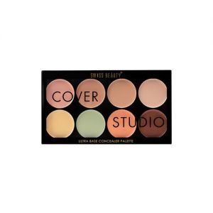 Swiss Beauty Cover Studio Ultra Base Concealer Palette - Shade 03
