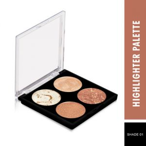 Swiss Beauty Highlighter Palette - Shade 01