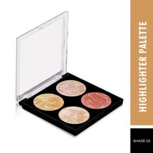 Swiss Beauty Highlighter Palette - Shade 02