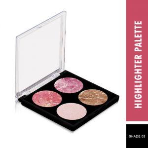 Swiss Beauty Highlighter Palette - Shade 03