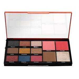 Swiss Beauty Face and Eye Make-up Palette - 02 Vegas Love