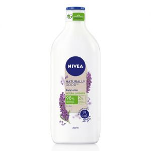 NIVEA Naturally Good, Natural Lavender Body Lotion, For Dry Skin, No Parabens