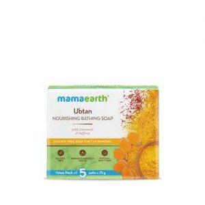 Mamaearth Ubtan Nourishing Bathing Soap With Turmeric & Saffron